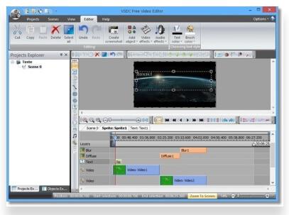 éditeur de MOV gratuit - VSDC Free Video Editor