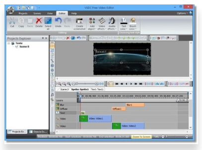 free MOV editor - VSDC Free Video Editor