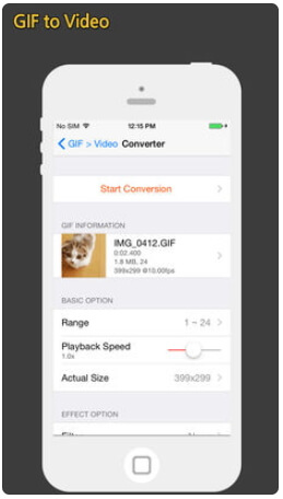 convertir un gif en mov iphone