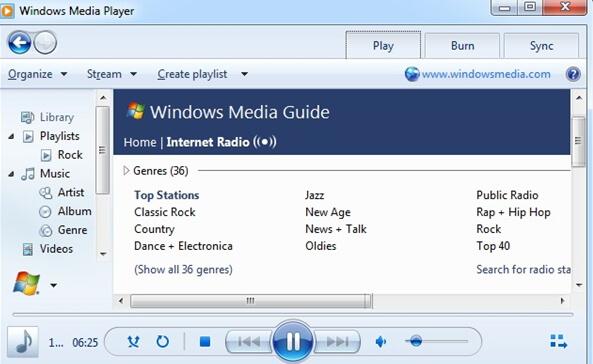 listen to internet radio