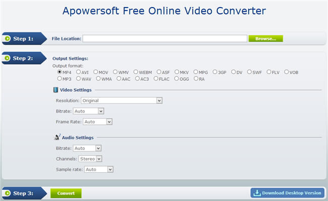 mp3 to aac converter-apowersoft