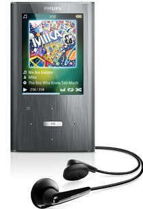 Philips GoGEAR Ariaz Bluetooth MP3 Player