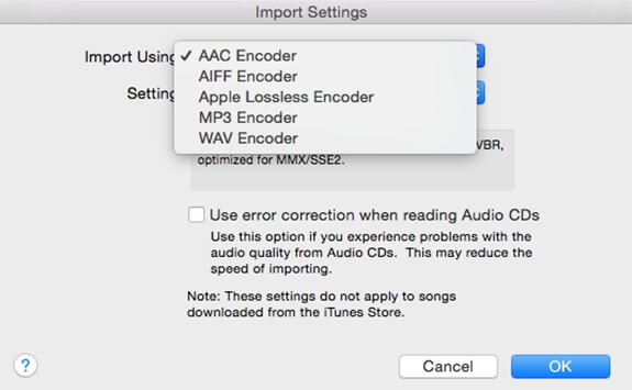 choose mp3 encoder