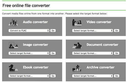 convert mp3 to m4a by Online-Convert