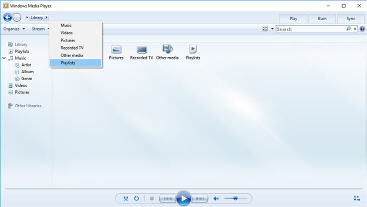 lancer Windows Media Player