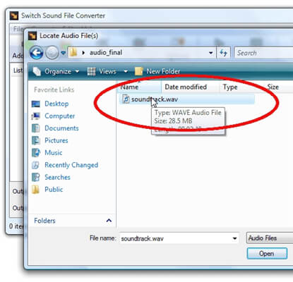 add WMA files to the windows player