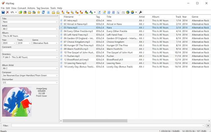 Tags ou balises MP3