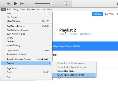 convert flac to mp3 itunes