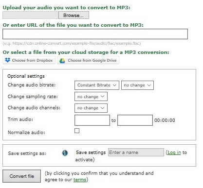 10 Best Online FLAC to MP3 Converters to Convert FLAC to MP3
