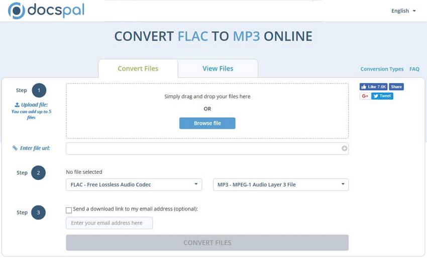 flac in mp3 umwandeln online