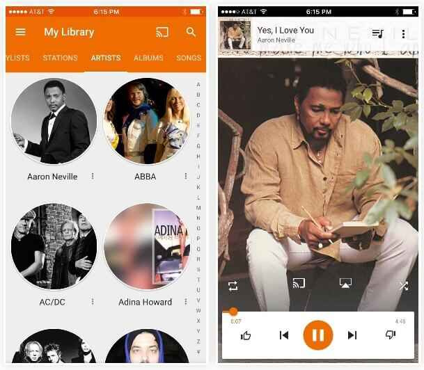 Transfére MP3 avec Google music