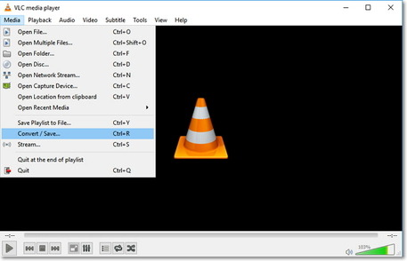 convert to mp3 with vlc