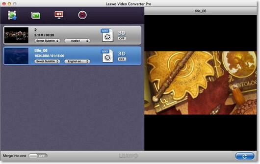 Leawo Video Converter لتحويل MP3