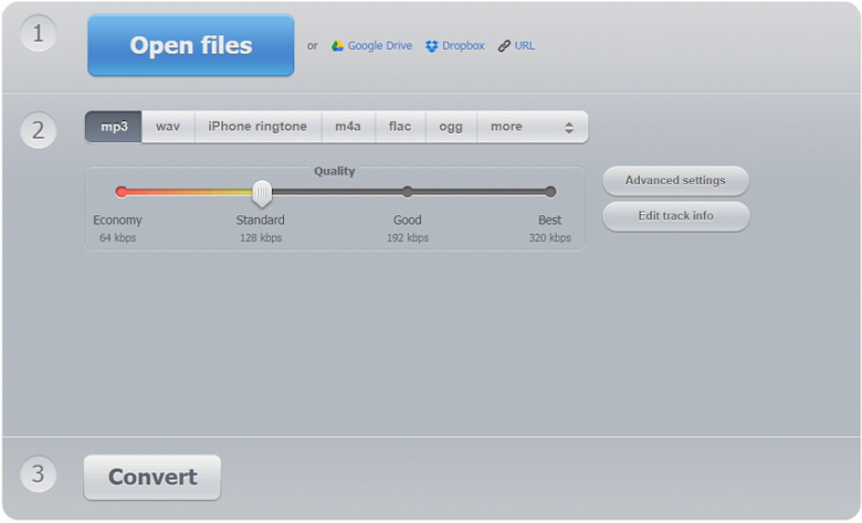 online m4a to mp3 converter