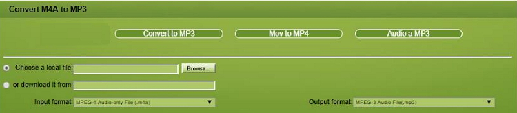 mp3 to m4a online