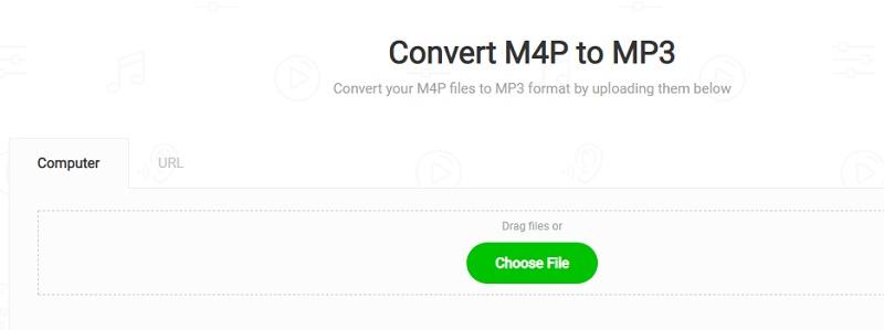 MP3cutter M4P to MP3 converter