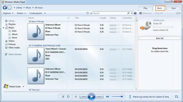 convert mp3 to wav-open windows media player