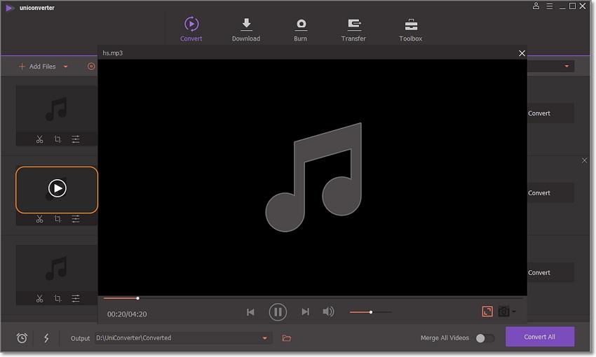 play MP3 directly on Windows