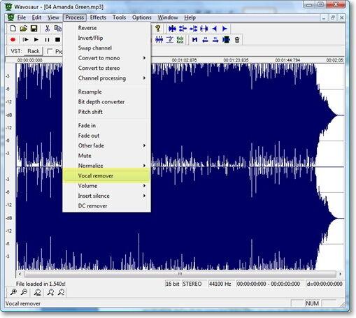 karaoke mp3 vocal remover software free download