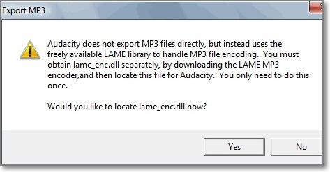 salvar tipo de arquivo como mp3