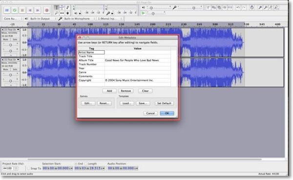 remove mp3 vocal-export the file