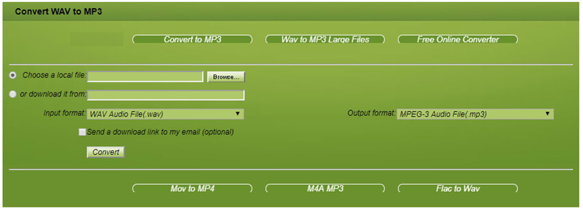 WAV to MP3 - Online Converter