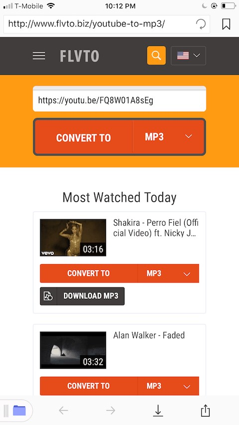 YouTube to MP3 Documents App 2