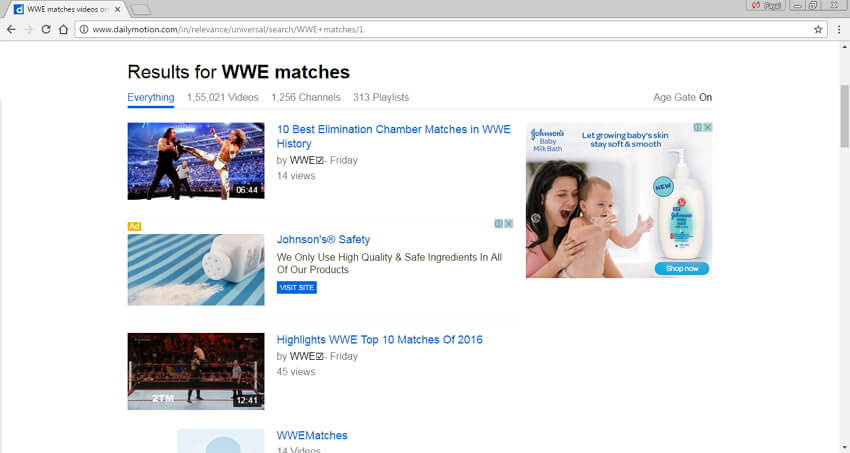 WWE-Matchvideos in MP4 herunterladen - Dailymotion