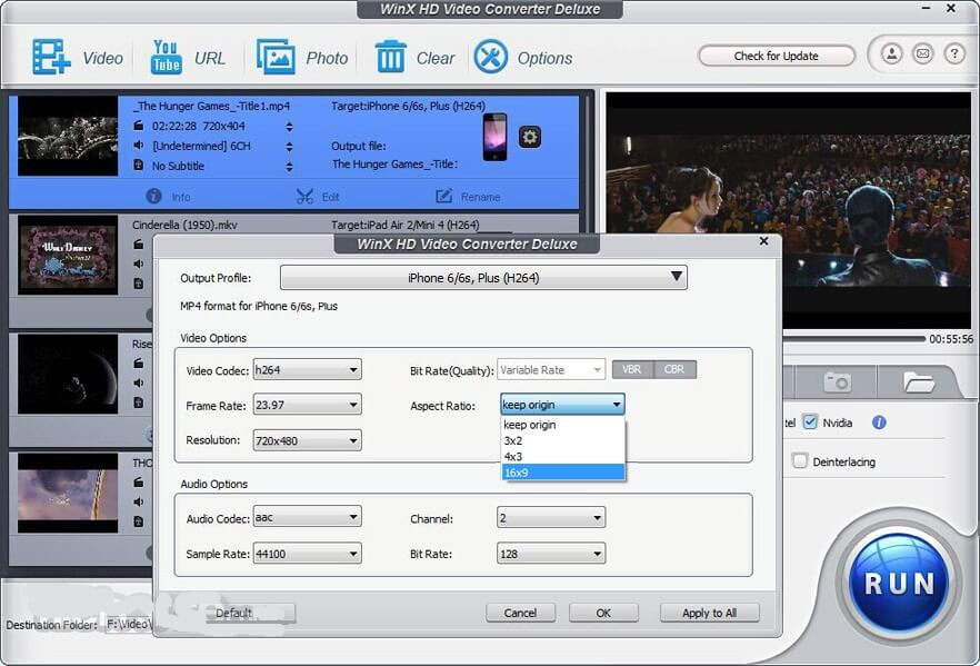 convert from MOV to MP4 free on Windows/Mac