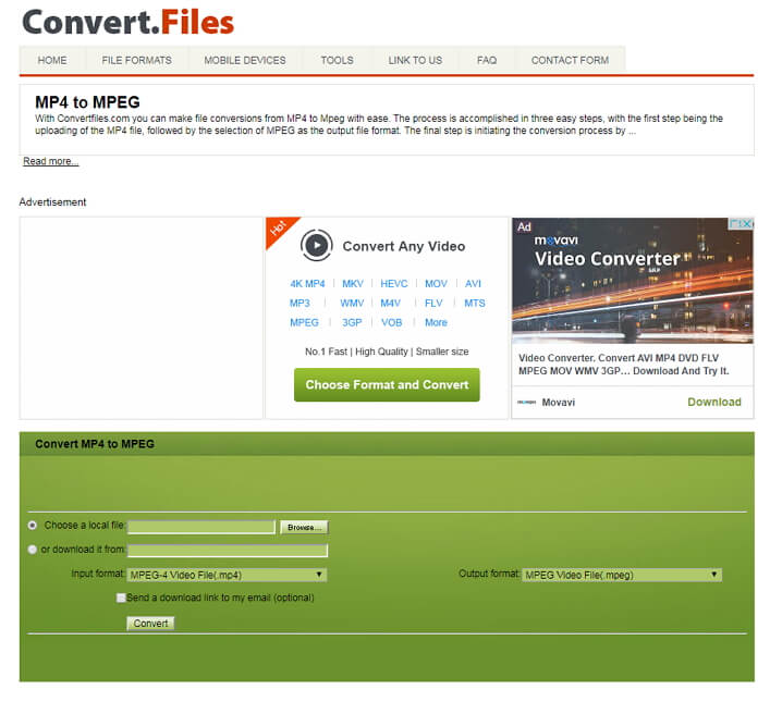 convert mp4 to mpeg online free