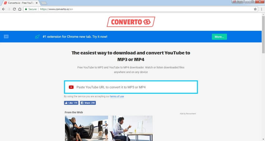 convertidor de youtube a mp4 de alta calidad converto