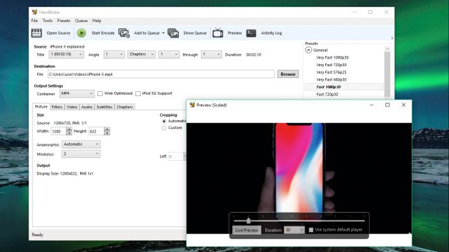 how to convert avi to mp4 free with handbrake