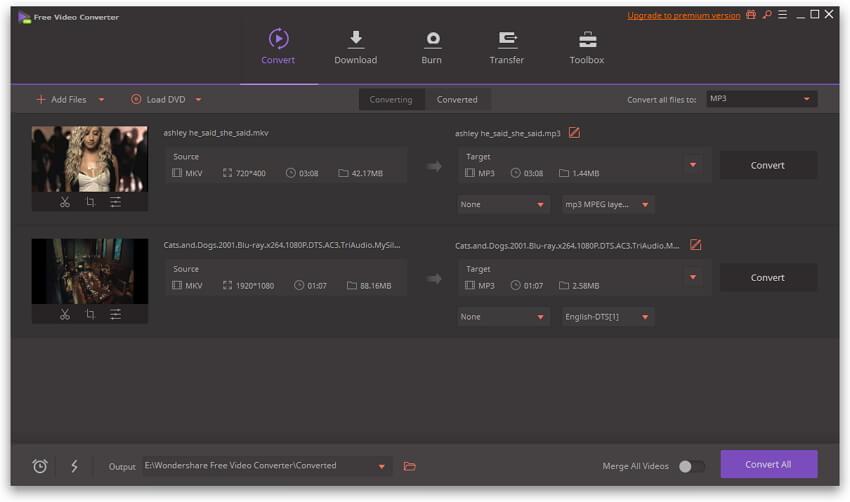 free MP4 converter desktop