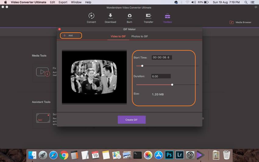 Importeer MP4-video's en kies instellingen