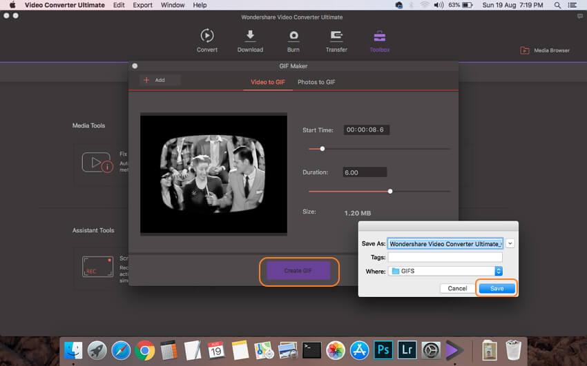 Converteer MP4 naar GIF