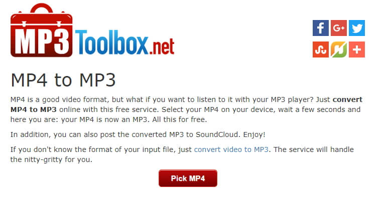Top Dez Conversores On-line de MP4 para MP3
