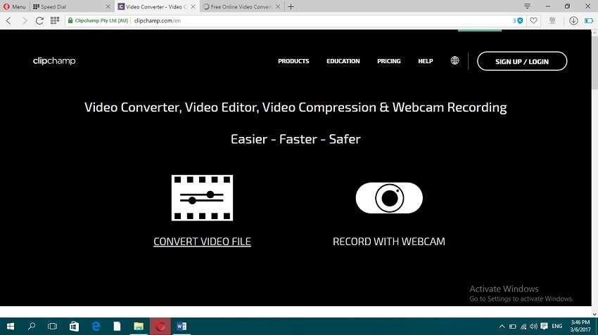 Online MP4 to MOV Convert - ClipChamp
