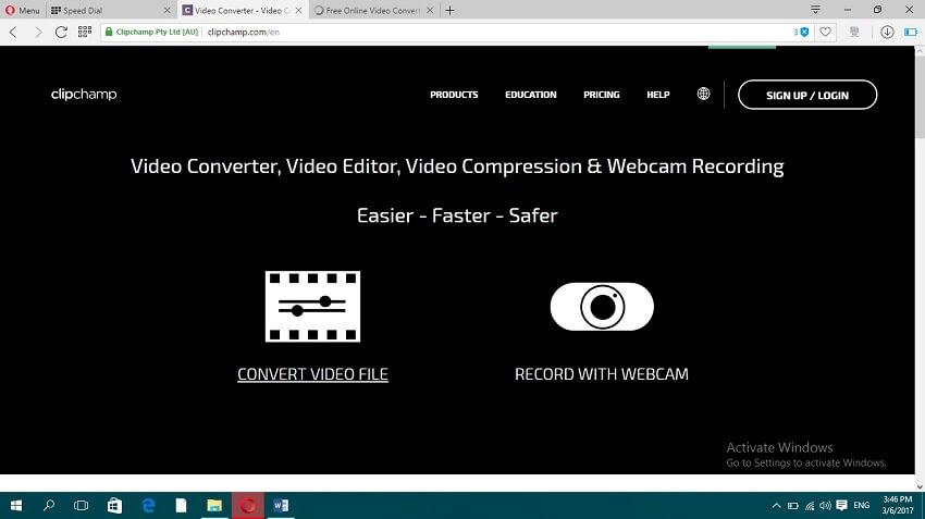 Online MP4 zu MOV Konvertieren - ClipChamp