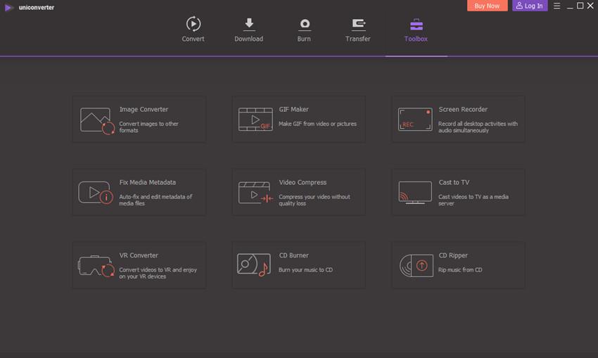 Choose Video Compress Tool
