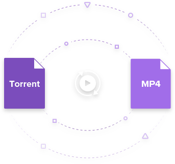 torrent to mp4