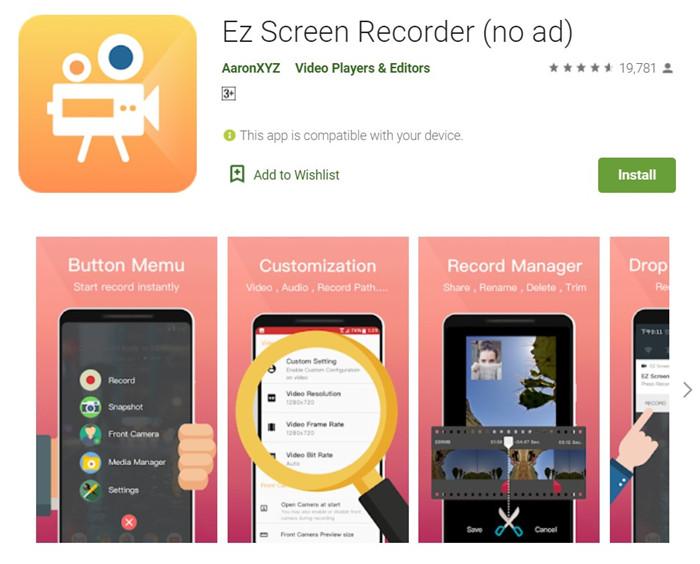 EZ Screen Recorder