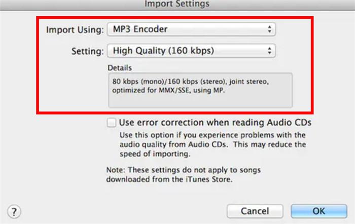 import settings