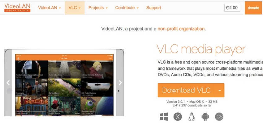 download do VLC media player