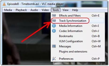 Choose track synchronization