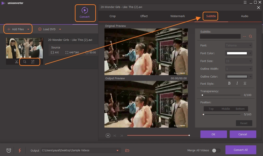 add video to subtitle tool