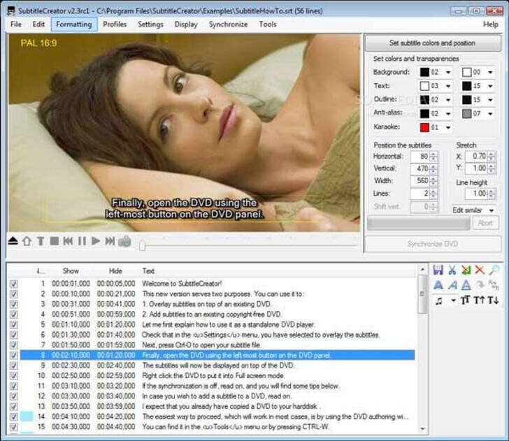subtitle software