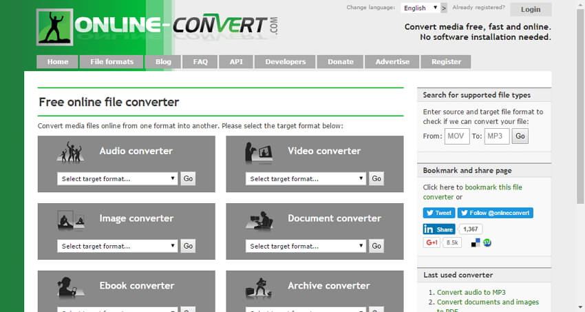 Online Converter to Convert AVCHD to MP4