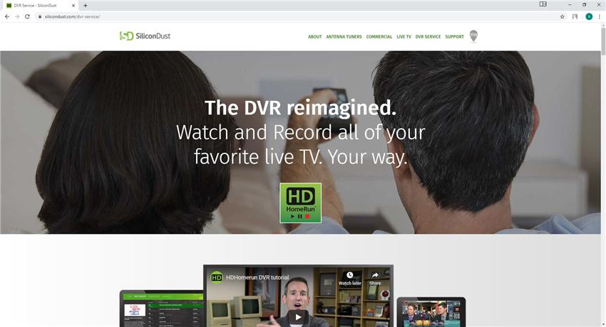 HDHomeRun DVR