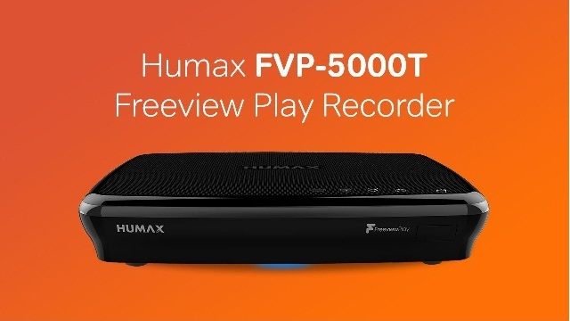 Humax FVP-5000T Freeview Recorder