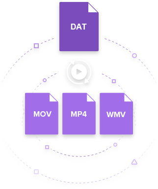 DAT Converter: 3 Ways to Convert DAT to MP4, WMV, MOV